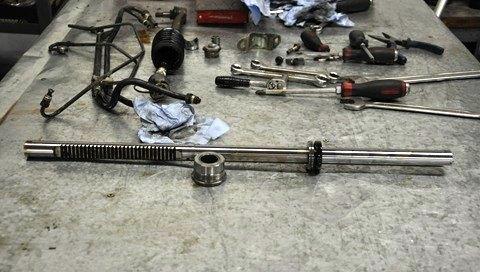 ремонт рулевой рейки субару